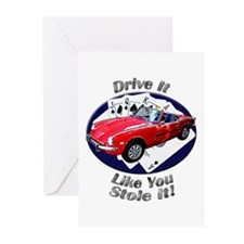 Triumph Spitfire Greeting Cards (Pk of 20)