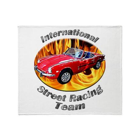 Triumph Spitfire Throw Blanket