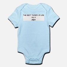 Best Things in Life: Aba Infant Creeper
