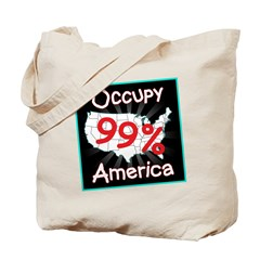 occupy america 99 Tote Bag