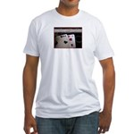 Live Dangerously Fitted T-Shirt