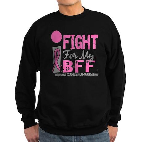 Fight For My Breast Cancer Sweatshirt (dark)