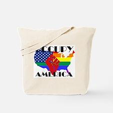 Occupy America LGBTQ Tote Bag