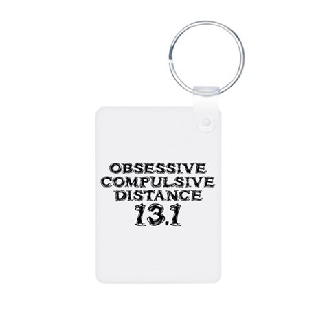 Obsessive Compulsive Distance Aluminum Photo Keych