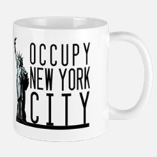Occupy New York City Mug