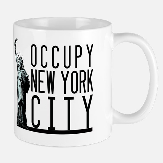 Occupy New York City Mug