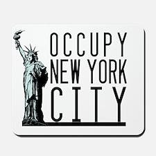 Occupy New York City Mousepad