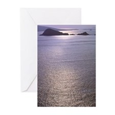Irish Seascape 10p Greeting Card 01