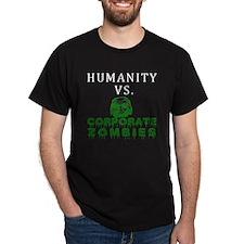 Humanity vs. Corporate Zombie T-Shirt