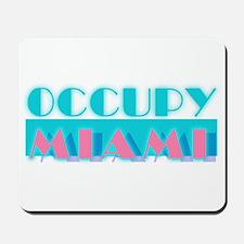 Occupy Miami Mousepad