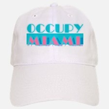 Occupy Miami Baseball Baseball Cap