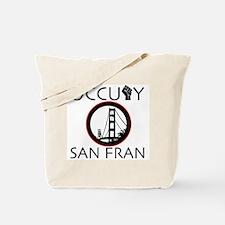 Occupy San Fransisco Tote Bag