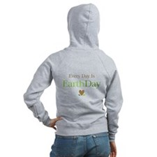 Every Day Earth Day Zip Hoodie