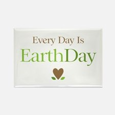 Every Day Earth Day Rectangle Magnet