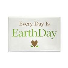 Every Day Earth Day Rectangle Magnet (10 pack)