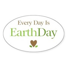 Every Day Earth Day Decal