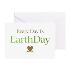 Every Day Earth Day Greeting Card