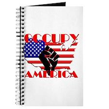 Occupy America USA Flag Journal