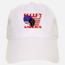 Occupy America USA Flag Baseball Baseball Cap