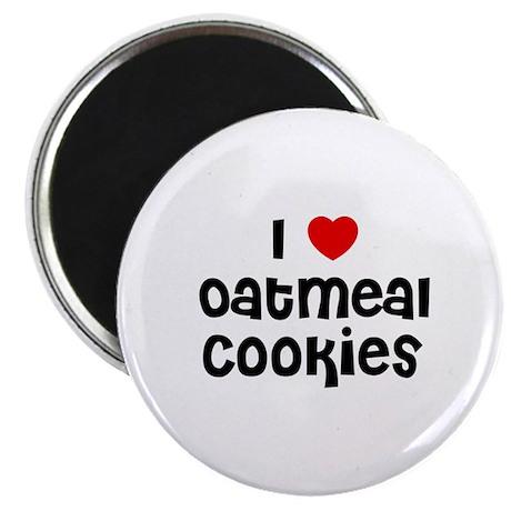 I * Oatmeal Cookies Magnet