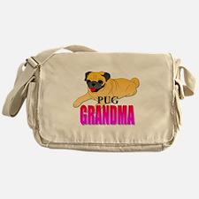Fawn Pug Grandma Messenger Bag