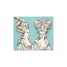 18th century fashion 38.5 x 24.5 Wall Peel