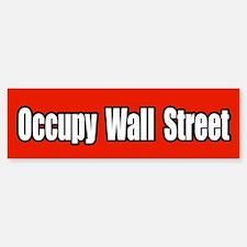 Occupy Wall Street 99 Percent Bumper Bumper Sticker