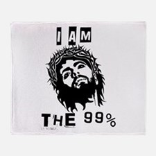 Jesus Is The 99% Throw Blanket