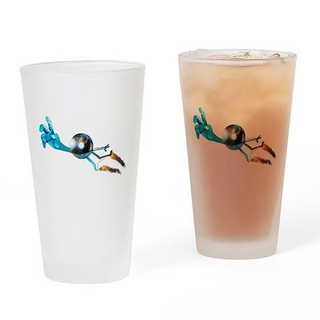 Astro Jump Drinking Glass