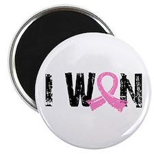 """I Won Breast Cancer 2.25"""" Magnet (100 pack)"""