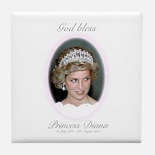HRH Princess Diana Remembrance Tile Coaster