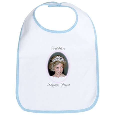 HRH Princess Diana Remembrance Bib
