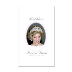 HRH Princess Diana Remembrance Wall Decal
