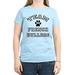 Team French Bulldog Women's Light T-Shirt