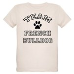 Team French Bulldog Organic Kids T-Shirt