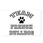 Team French Bulldog Postcards (Package of 8)