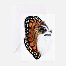 Papillon Fantasy Wings Greeting Cards (Package of