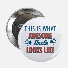 """Awesome Uncle Designs 2.25"""" Button"""