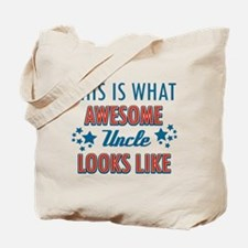 Awesome Uncle Designs Tote Bag