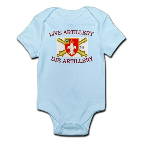 2nd Bn 12th FA Infant Bodysuit