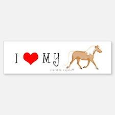 I Love My . . . Bumper Bumper Bumper Sticker