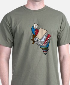 Tower of Books T-Shirt