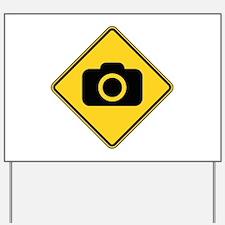 Warning : Photographer Yard Sign