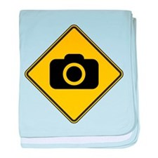 Warning : Photographer baby blanket