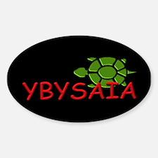 YBYSAIA w/ green Turtle Oval Decal