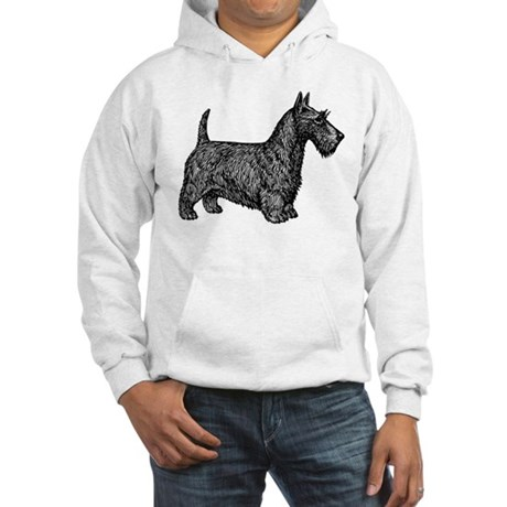 Scottish Terrier Hooded Sweatshirt