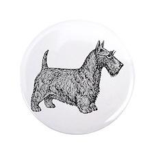 """Scottish Terrier 3.5"""" Button"""