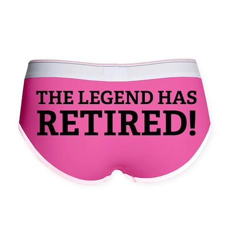 The Legend Has Retired! Women's Boy Brief