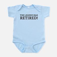 The Legend Has Retired! Infant Bodysuit