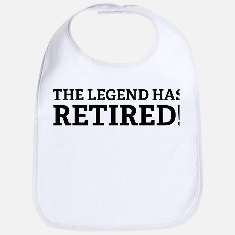 The Legend Has Retired! Bib